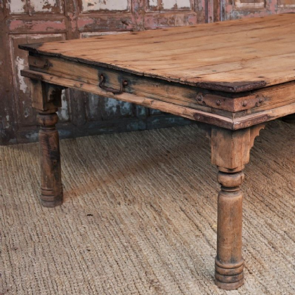 Antique Thakat  table in teak wood from rajasthan
